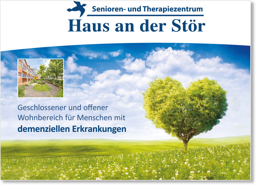 Senioren- & Therapiezentrum Haus an der Stör - Flyer Demenz