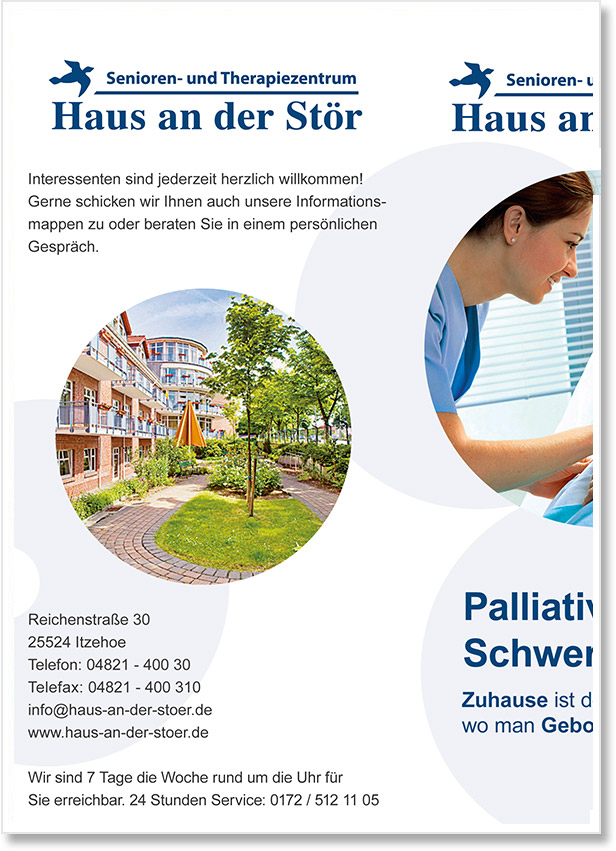 Senioren- & Therapiezentrum Haus an der Stör - Palliativ Care